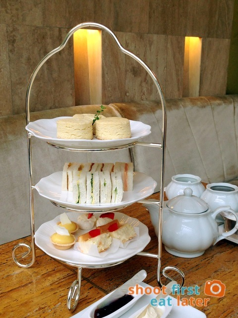 Lusso Afternoon Tea for Two P900