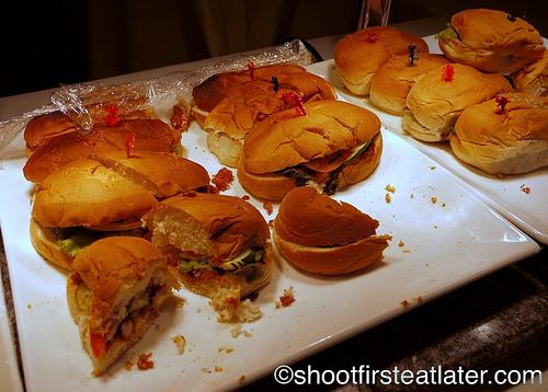 Hamilo Coast merienda - sandwiches