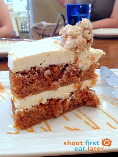 Carrot & Cream Cheese Mousse Cake P310
