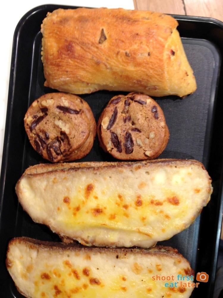 Eric Kayser - Dark Chocolate Chip cookies, Walnut Bread & Croque Monsieur