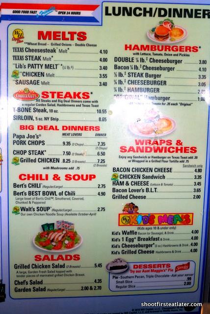 Waffle House menu-1