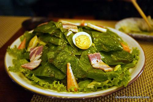 horenso shaki-shai salada