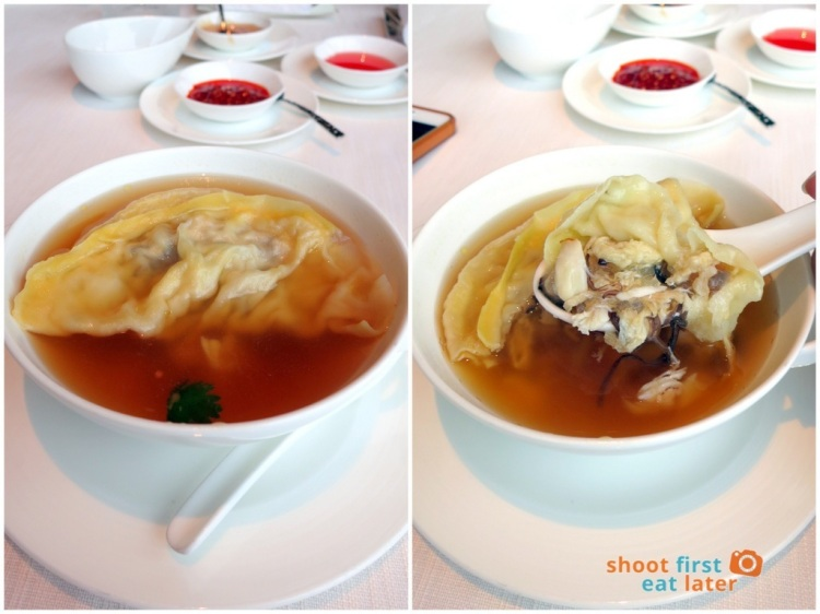 Tin Lung Heen - Double-boiled Crab Meat Dumpling in Bouillon