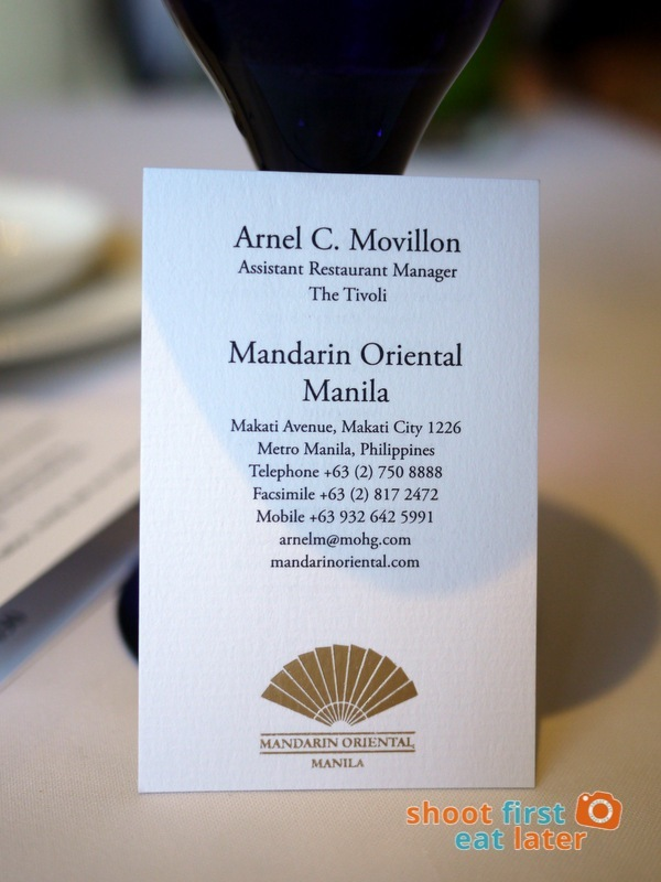 Mandarin Oriental Manila - The Tivoli-032
