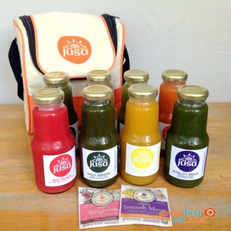 Juicing with The Daily Jusa (fruit juice, veggie juice)