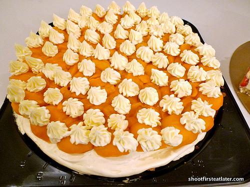 Dulcelin's mango torte