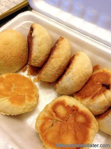Tim Ho Wan's baked bun with bbq pork HK$15