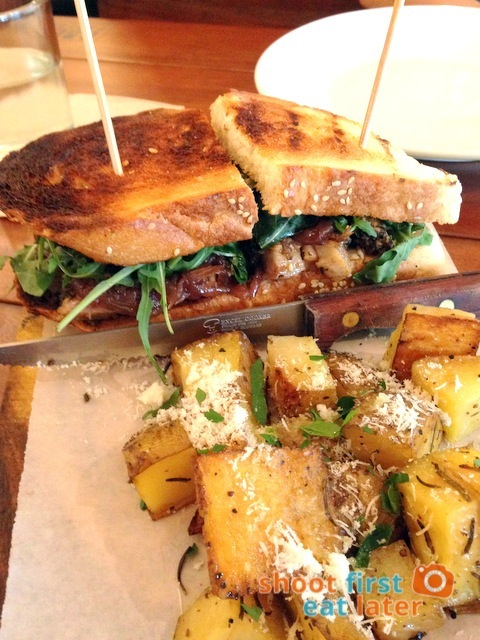 Green Pastures Shangri-La East Wing -Porchetta sandwich P385