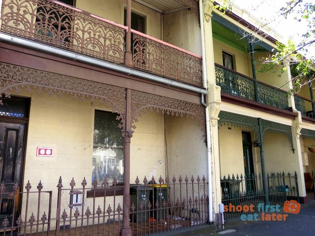 Drummond Street Terrace Houses
