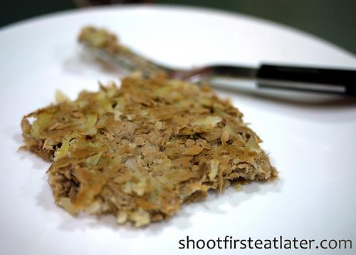Cohen Lifestyle Seafood Meals- tuna & cauliflower burger-3