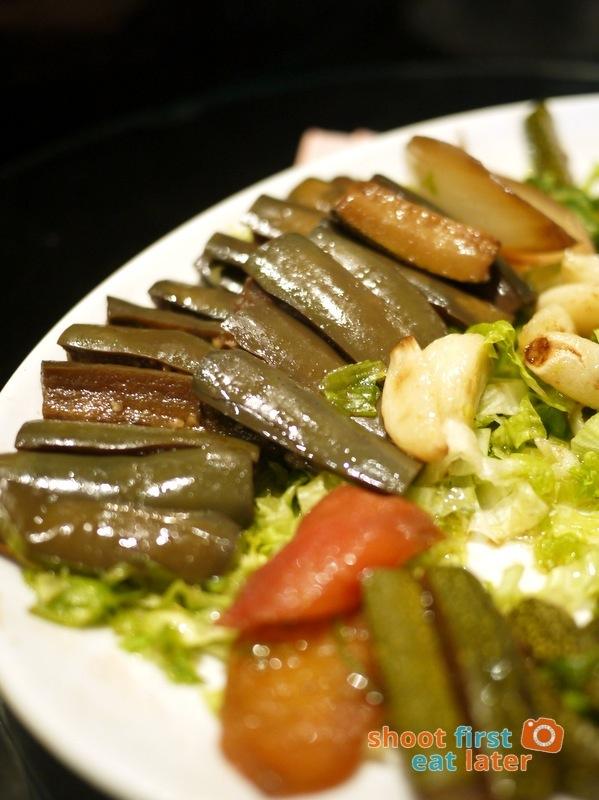 Alba Restaurante Español- Escalavida (roasted vegetables with anchovies)