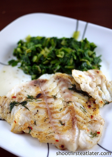 Cohen Lifestyle Seafood Meals- pan seared sole fish