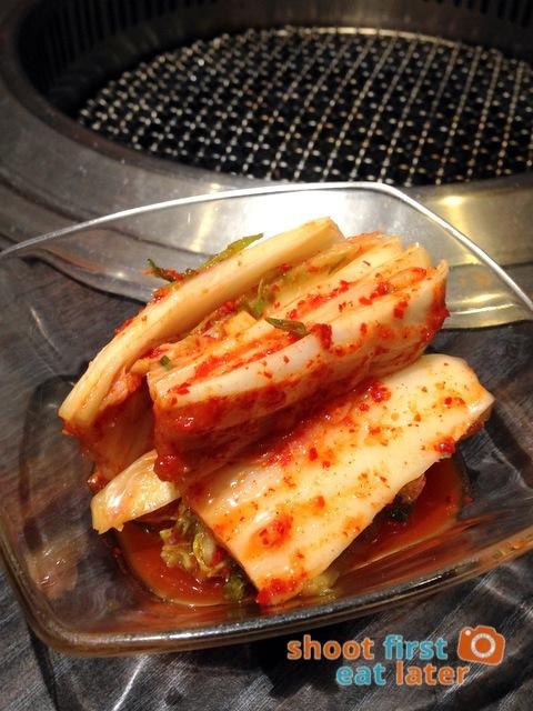 Gyumon Yakiniku Restaurant- kimchi