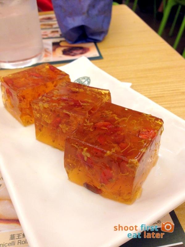 Tim Ho Wan Manila- Tonic Medlar & Osmanthus Cake P70