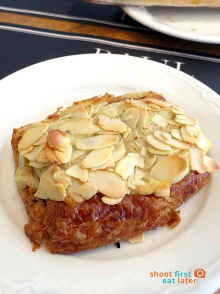Paul Boulangerie Manila- chocolate & almond croissant