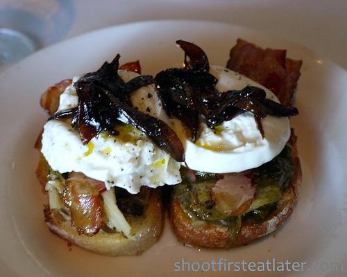 Osteria Mozza-burata bacon