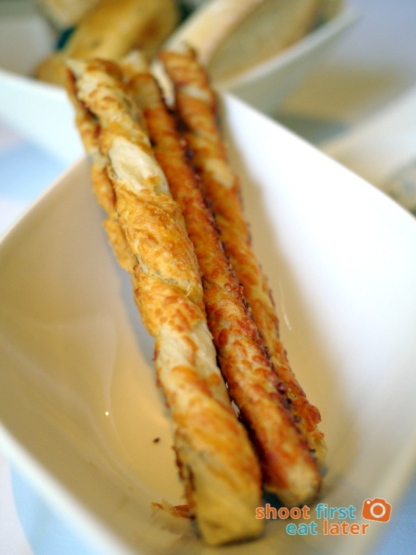 Mandarin Oriental Manila - The Tivoli- Cheese Sticks