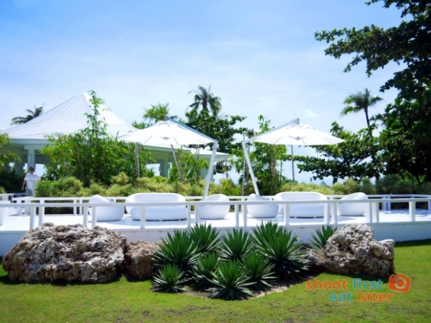 The Balesin Spa outdoor seating