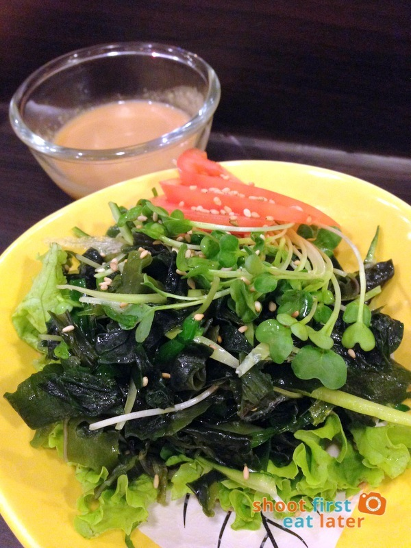 Tanabe Japanese Resaurant- Kaiso Salad P190