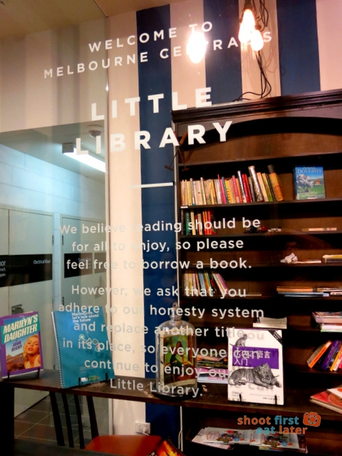 Melbourne Central's Little Library