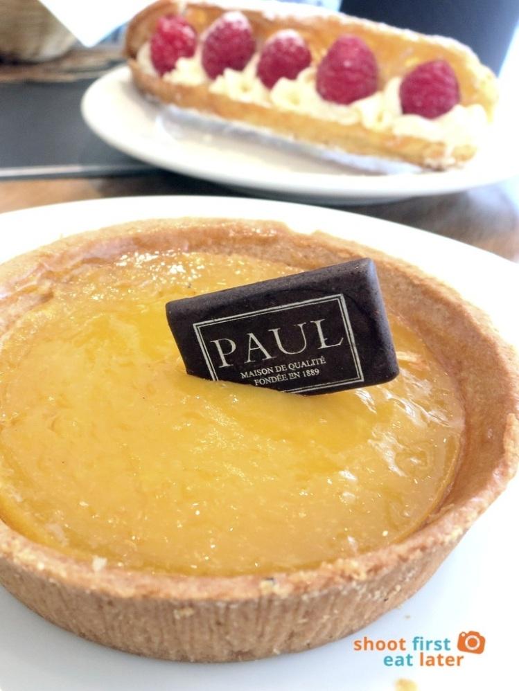 Paul Boulangerie Manila- lemon cream tartlet P210