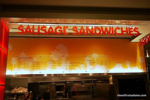 Jody Maroni Sausage Sandwiches