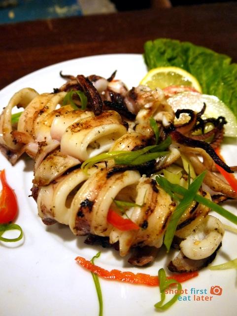 Balesin Fish Fun - grilled squid P250