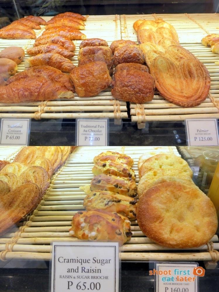 Paul Boulangerie Manila- croissant, palmier