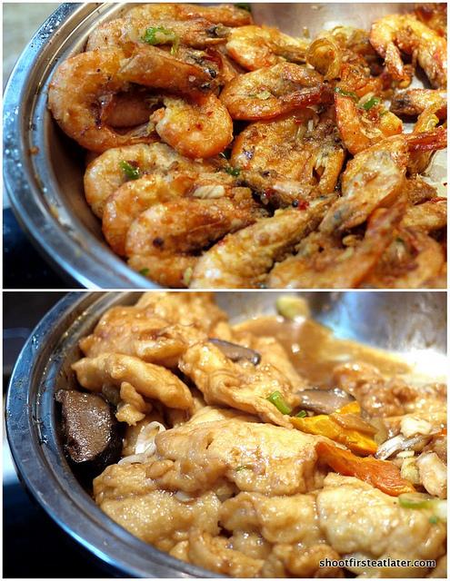 shrimp & fish fillet