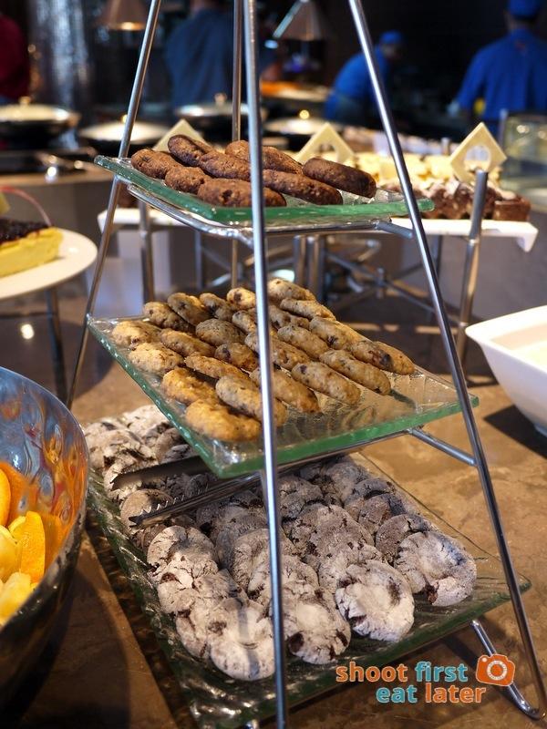 Marco Polo Hotel Ortigas Cucina Restuarant Buffet- cookies