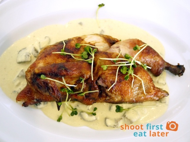 Roast Chicken stuffed w: Rosemary & Garlic Potato P600