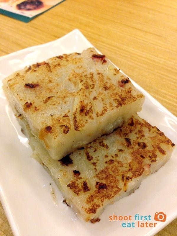Tim Ho Wan Manila- Pan Fried Carrot Cake P145