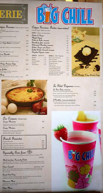 La Creperie menu-1