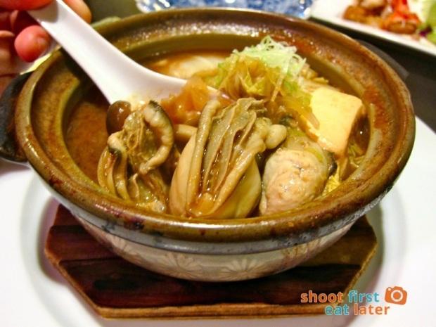 Toki Japanese REstaurant- kaki (oyster) nabe P1,000-001