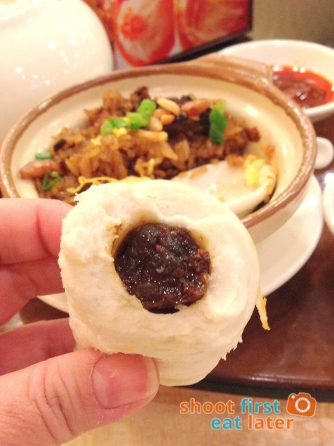 Chuk Yuen Seafood Restaurant- steamed Chinese sausage roll bun HK$22