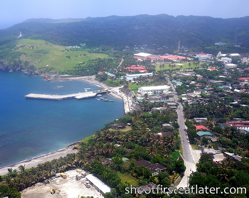 Batanes from the air