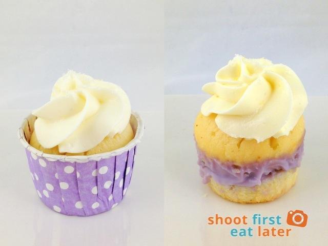 Baked by Anita - Yuzu Lavender cupcake