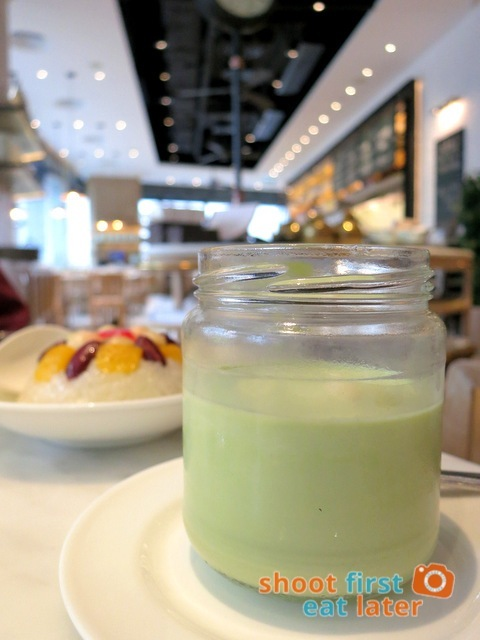 The Dining Room- chilled floral jasmine pudding HK$22