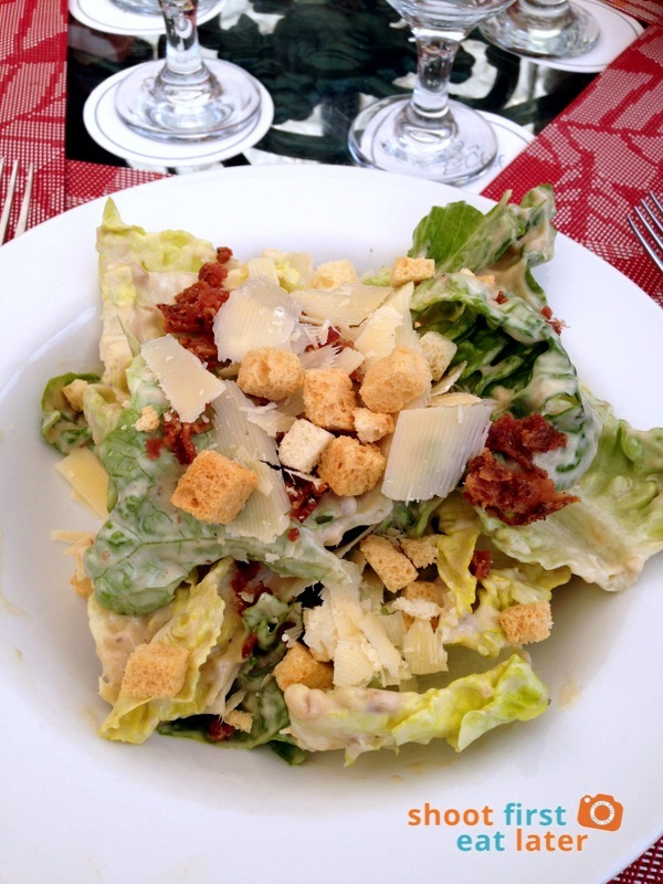 Le Chef at The Manor, Baguio- Caesar's Salad
