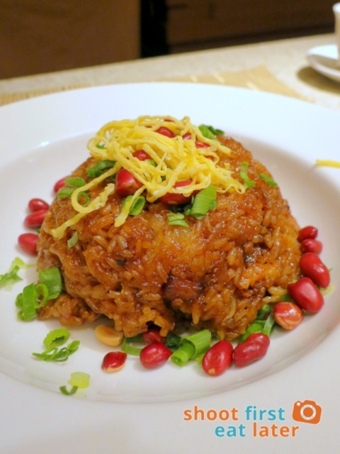 Rice Empire - wok fried glutinous rice with Chinese sausage & preserved pork MOP$58