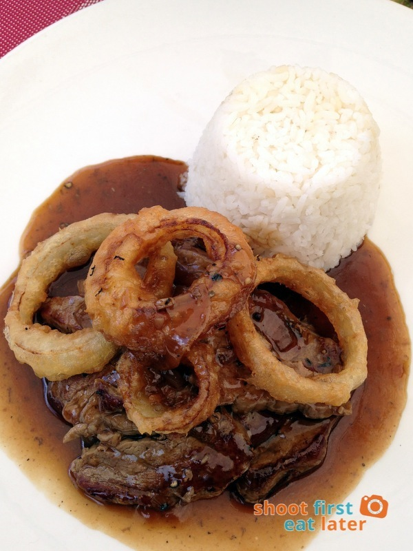 Le Chef at The Manor, Baguio- Beef Steak Tagalog