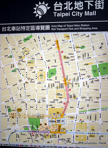 Taipei underground shopping-1