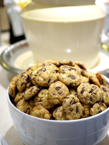 Spiral's chocolate chip cookies