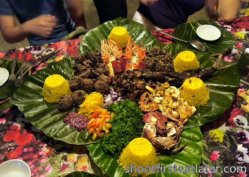 Pension Ivatan platter