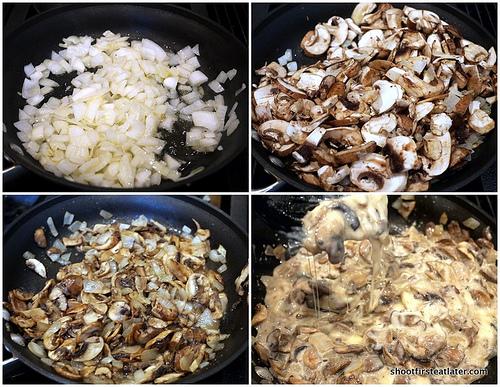 Mushroom Crêpe Cake-4