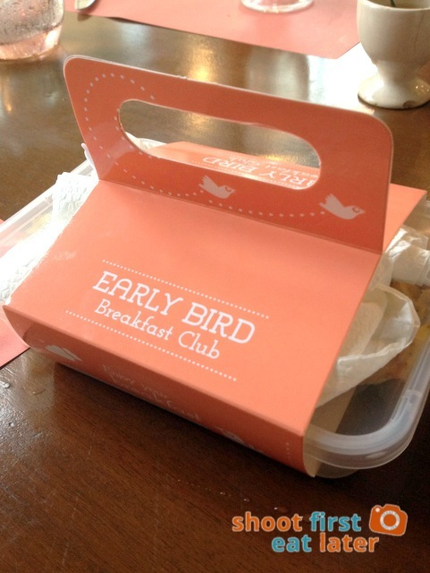 Early Bird take out