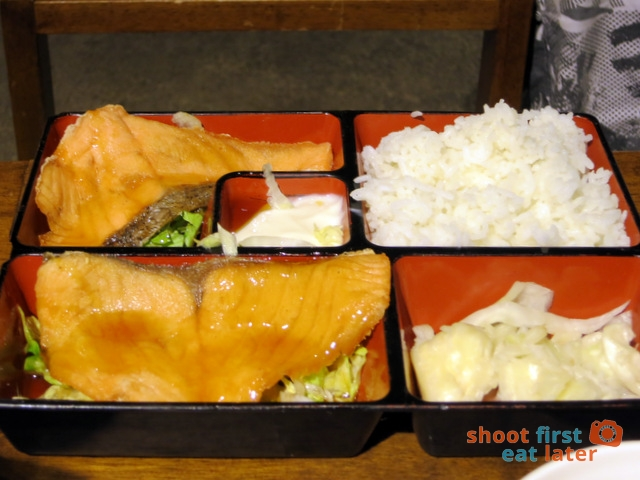 salmon rice set