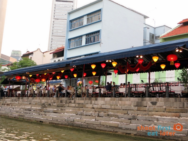 restaurants along the river
