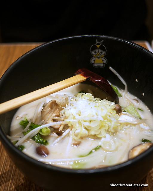 Assorted Mushroom Ramen w soup