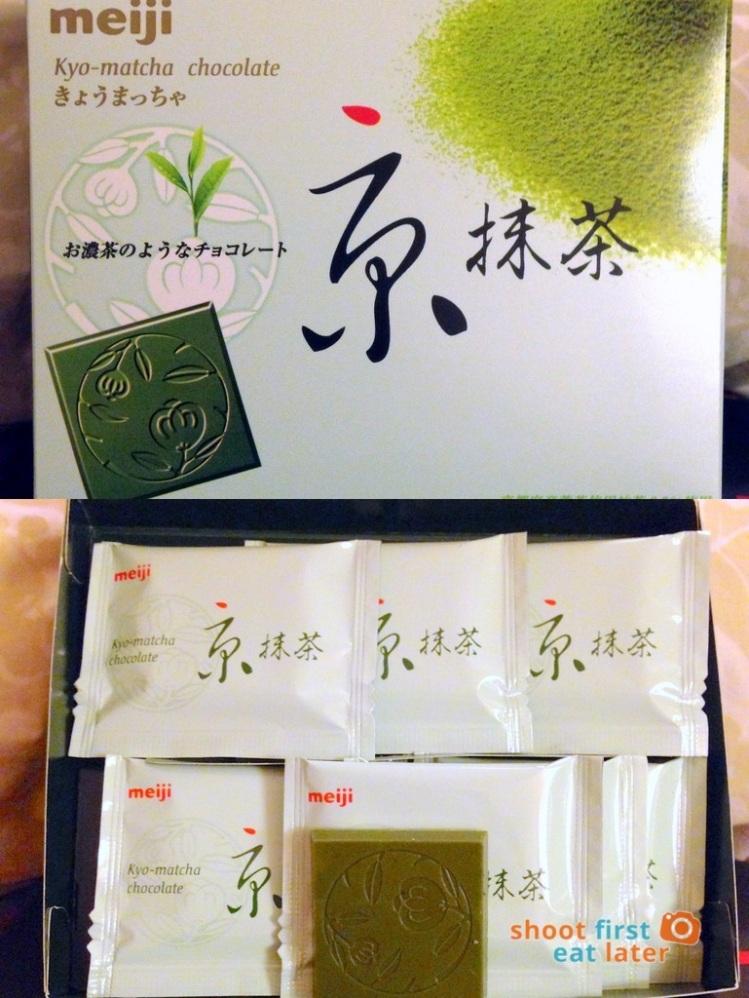 Semaru HK matcha finds- Meiji Kyo Matcha chocolate